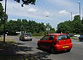 Roundabout at junction of B2037 (East Grinstead road) and B2036 (Horley to Balcombe) Road, Near Crawley, West Sussex. - geograph.org.uk - 27700.jpg