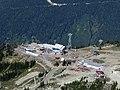 Roundhouse and new Peak 2 Peak station from Whistler Peak (2879195600).jpg