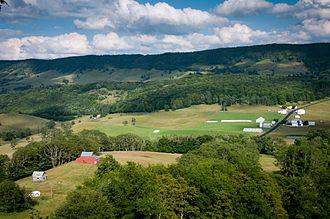 Highland County, Virginia - U.S. Route 250 near Hightown