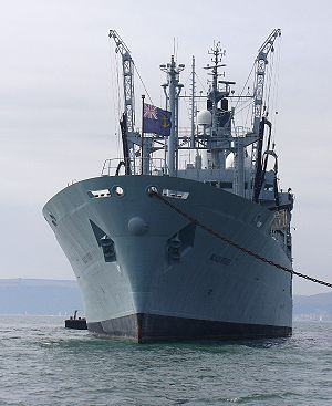 Rover-class tanker - RFA Black Rover