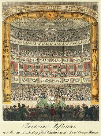 The Old Vic - Royal Coburg Theatre in 1822