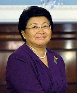 Roza Otunbayeva President of Kyrgyzstan