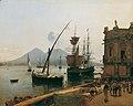 Rudolf von Alt - Der Hafen von Neapel mit Vesuv - 4382 - Österreichische Galerie Belvedere.jpg