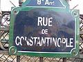 Rue de Constantinople, Paris May 2010.jpg