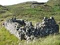 Ruin at Poll Tigh a' Charraigein - geograph.org.uk - 522891.jpg