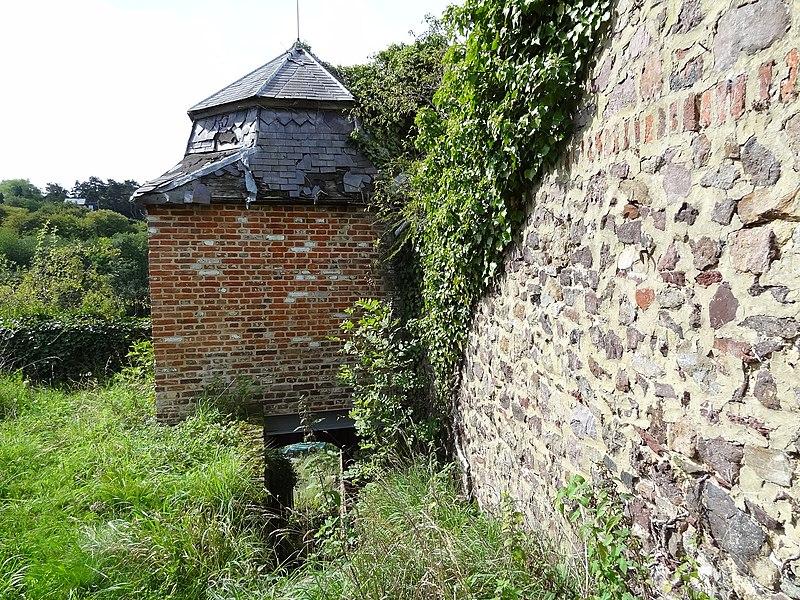 Ruine du jardin surpandu a thiun