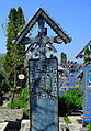 Rumunia, Sapanta, Wesoły Cmentarz -Aw58- 28 kwietnia 2012 r.SDC12106.JPG