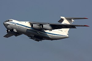 2009 Makhachkala Il-76 collision - Image: Russian Air Force Ilyushin Il 76MD Dvurekov 16