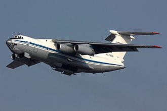 2009 Makhachkala Il-76 collision - Image: Russian Air Force Ilyushin Il 76MD Dvurekov 16