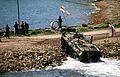 Russian BTR-80 APC comes ashore.JPEG