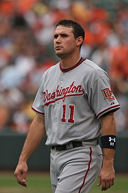 Ryan Zimmerman helmetless