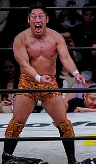 Ryo Saito Japanese professional wrestler