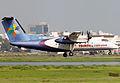 S2-AES Bombardier Dash 8-102A United Airways Landing (8305295493).jpg