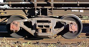 South African type X-17 water tender - SARCAST bogie