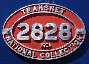South African Class 15CA 4-8-2 - Image: SAR Class 15CA 2828 (4 8 2) ID