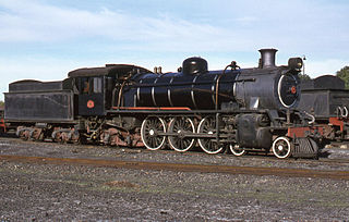 class of 4 South African 4-6-2 locomotives