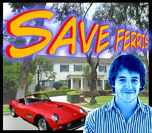 Photomontage to Ferris Bueller's Day Off Portu...