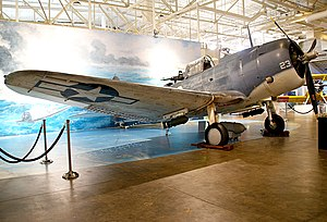 SBD-5 (BuNo 36177) front 3-4 starboard view.jpg