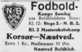 SBUs Mesterskabsrække football match advertisement Næstved Tidende 10.05.1928.png