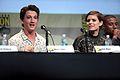 SDCC 2015 - Miles Teller & Kate Mara (19567158150).jpg