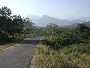 State Highway 17 (Kerala) - SH 17 at bottom of Manjampatti Valley