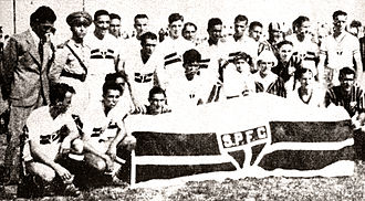 São Paulo FC - New team after being reformed in 1936
