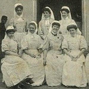 Inès de Bourgoing - SSBM nurses in Casablanca, ca. 1907