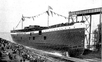 SS Monroe (1902) - SS Monroe launch 1902.