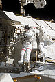 STS-131 EVA2 Rick Mastracchio and Clayton Anderson 1.jpg