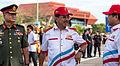 Sabah ChiefMinister Musa Aman and RoyalMalaysianArmy BrigGen-Ranjit-and Minister Yahya Hussin01.jpg