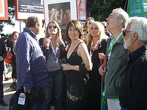 Sabina Guzzanti - At the 64th Venice Film Festival