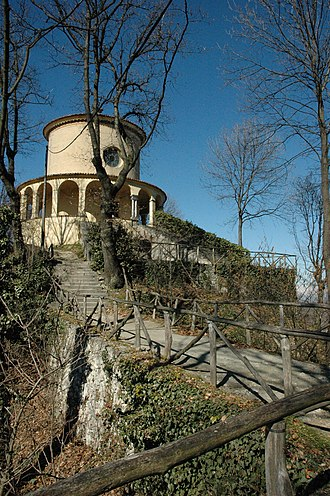 Sacri Monti of Piedmont and Lombardy - Paradise Chapel of the Sacro Monte di Crea