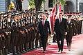 Saeimas priekšsēdētāja piedalās Šveices prezidenta oficiālajā sagaidīšanas ceremonijā (28226530588).jpg