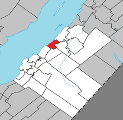 Location within Kamouraska RCM