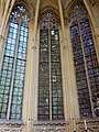 Saint-Germer-de-Fly (60), Sainte-chapelle, vitrail n° 3 - grisailles.jpg