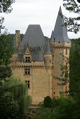 Château de Clérans à Saint-Léon-sur-Vézère
