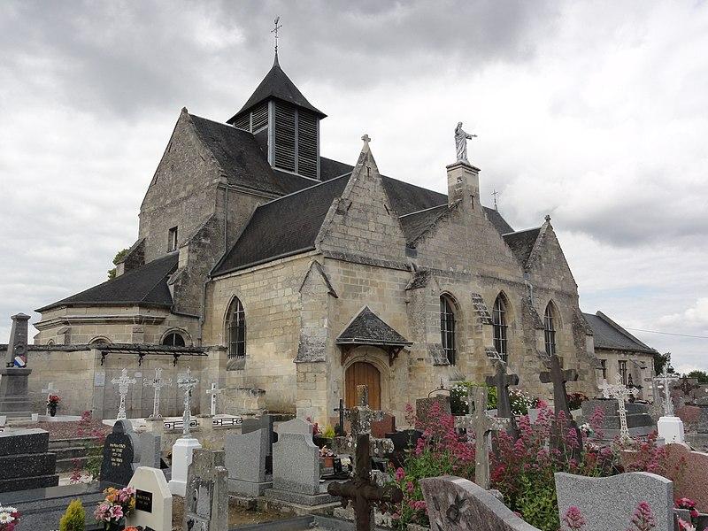 Saint-Paul-aux-Bois (Aisne) église