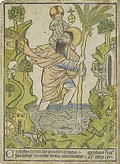 Buxheimský svatý Kryštof