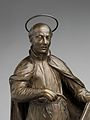 Saint Ignatius Loyola with an Angel Holding a Book Inscribed with the Motto of the Society of Jesus MET DP250601.jpg
