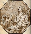Saint John the Evangelist. Watercolour painting. Wellcome V0032396.jpg