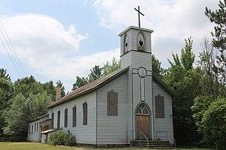 Saint Joseph of the Lake Church and Cemetery - Church in 2016