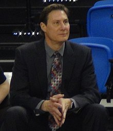 Saint Mary's coach Paul Thomas in 2016.jpg