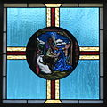 Saint Mary Catholic Church (Gatlinburg, Tennessee) - stained glass, the Nativity of the Lord.jpg