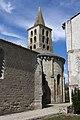 Saint Papoul-Salle capitulaire et Abside-2012 04 05.jpg