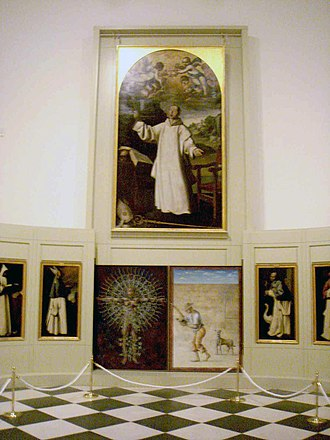 Francisco de Zurbarán - Zurbarán room in the Museum of Cádiz