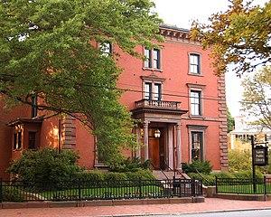 Salem Public Library (Massachusetts) - Salem Public Library, former house of sea captain John Bertram
