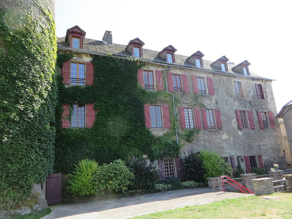 Salles-Curan - Château de l'Evêque - rue du Château (5-2015) IMG 1217.JPG