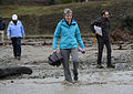 Sally Jewell at Cache Creek Wilderness (15874125068).jpg