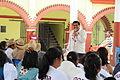 Salomon Jara en San Felipe Tejalapam día 8 de campaña.JPG