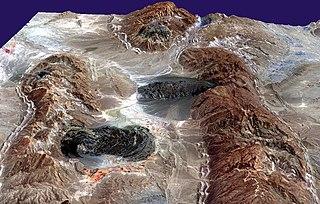 Salt glacier